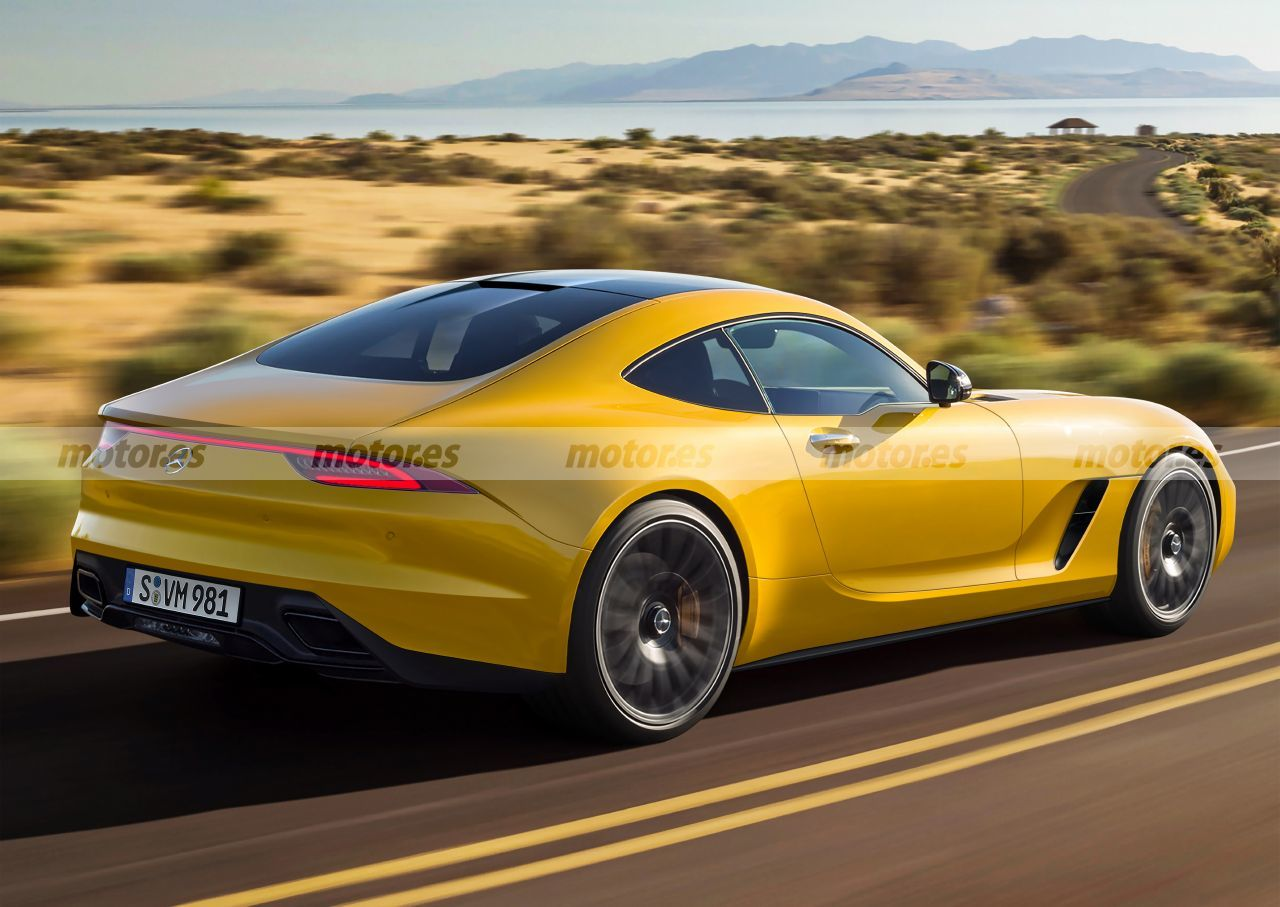 Nuova Mercedes-AMG GT render