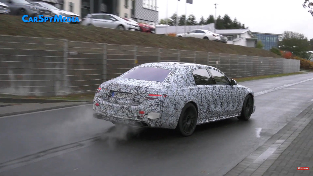 Nuova Mercedes-AMG S 63 e video Nurburgring