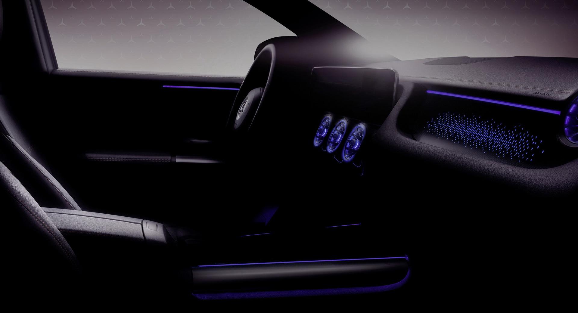 Nuovo Mercedes EQA teaser