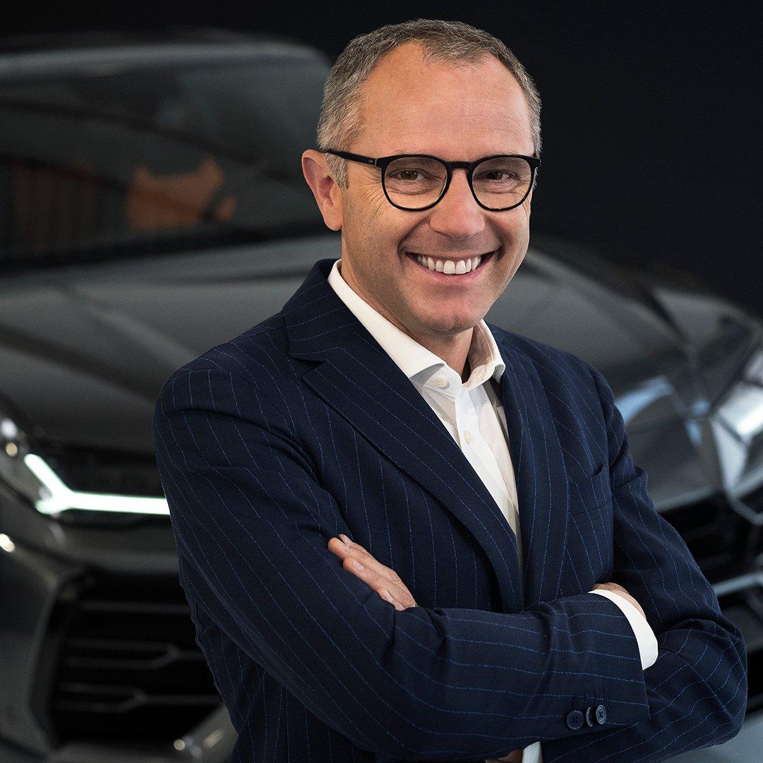 Stefano Domenicali CEO F1