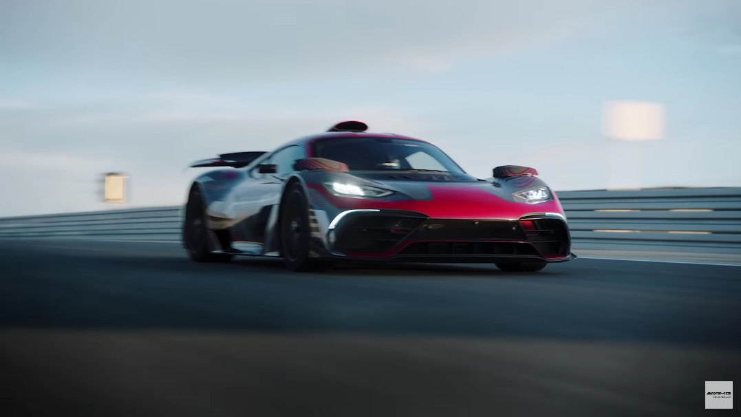 Mercedes-AMG One ultimo video ufficiale
