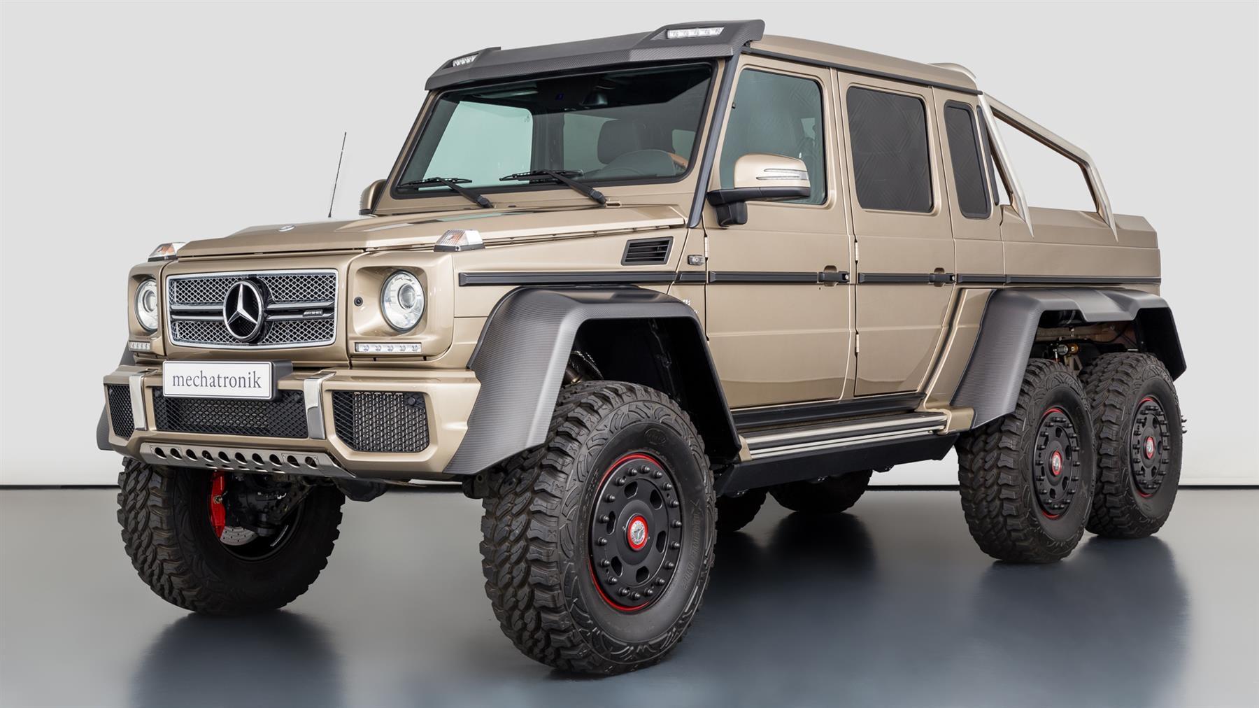 Mercedes-Benz G 63 AMG 6x6 370 km