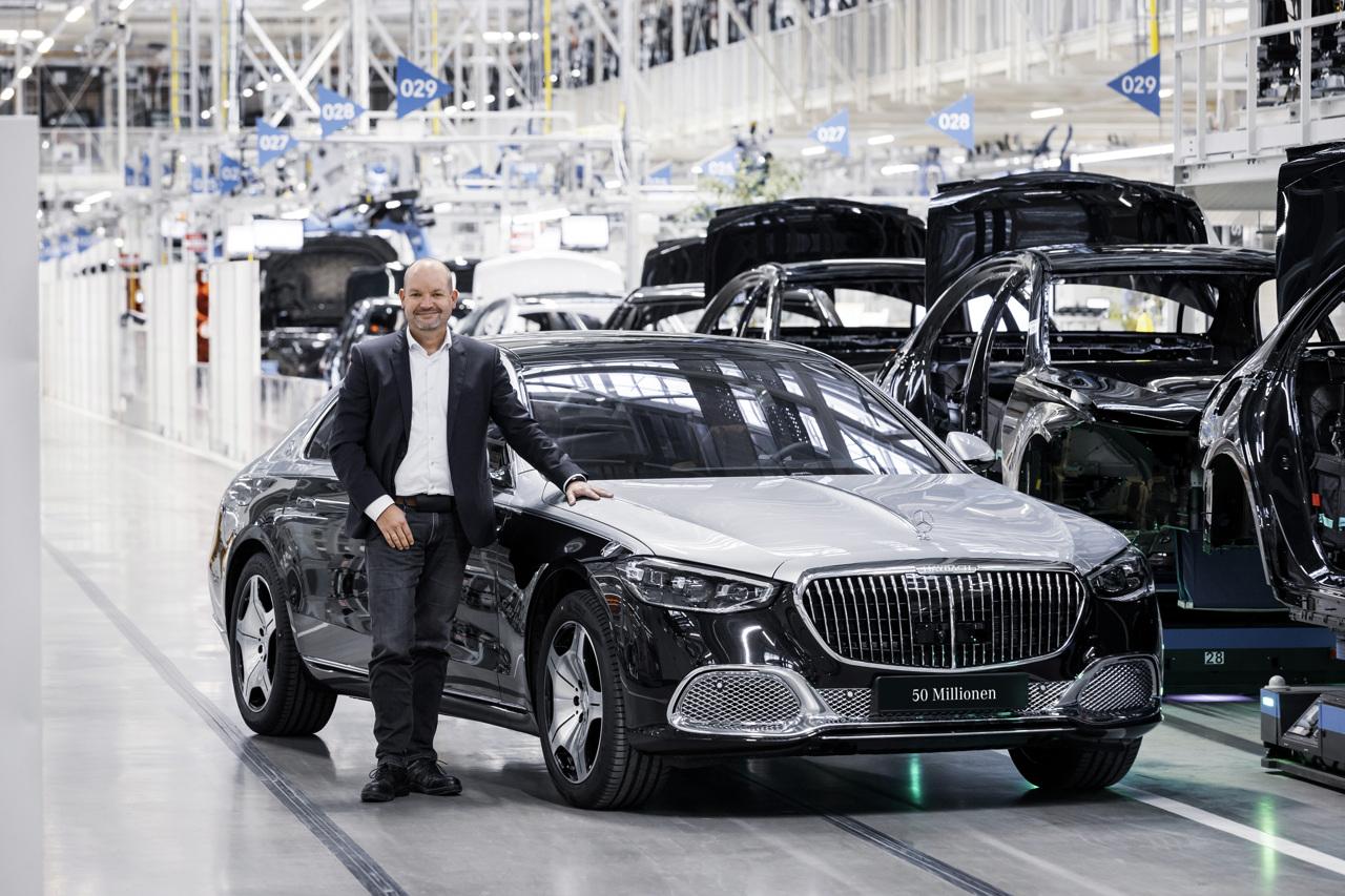 Mercedes-Maybach Classe S 50 milionesima auto prodotta