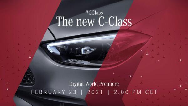 Nuova Mercedes Classe C teaser