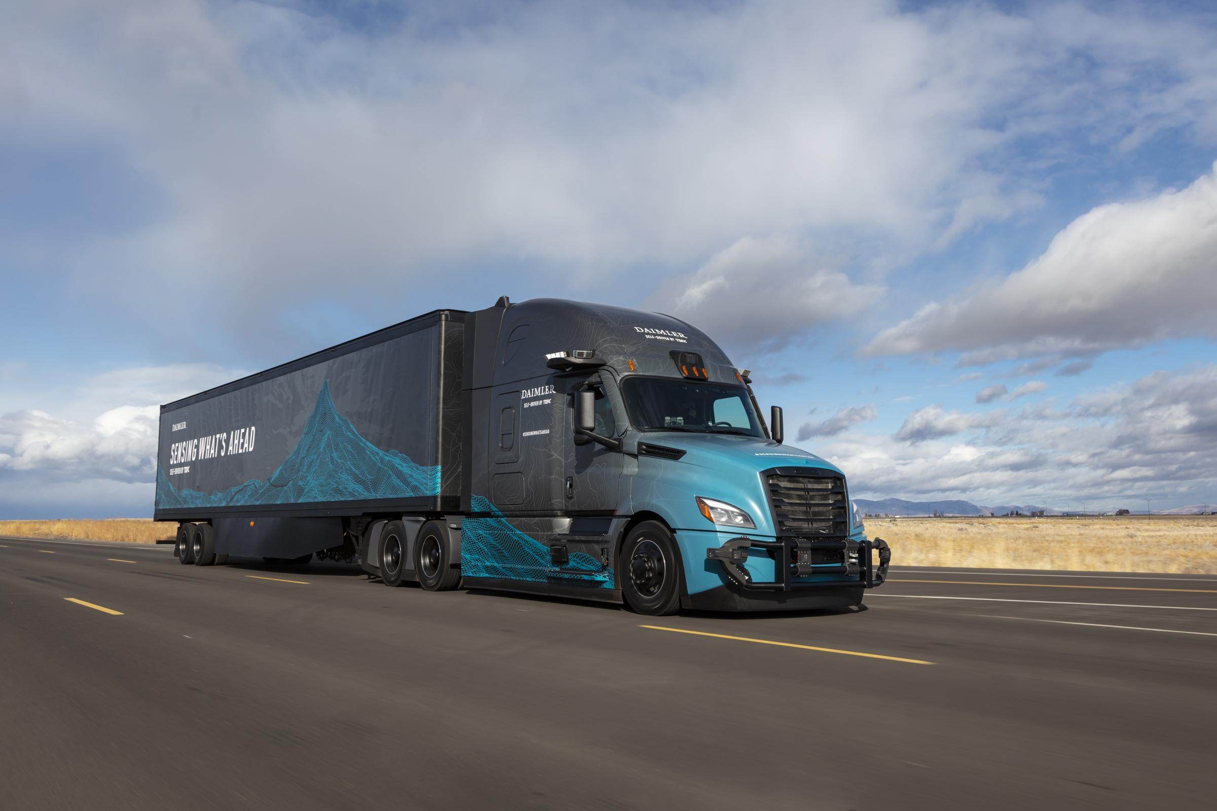 Torc Robotics Amazon camion guida autonoma