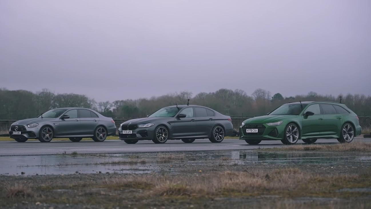 Mercedes-AMG E 63 S vs BMW M5 Competition vs Audi RS6 Avant