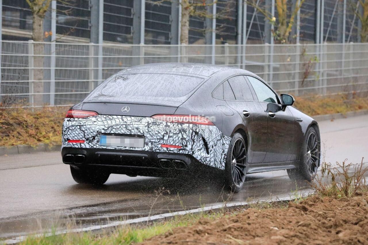 Mercedes-AMG GT 73 e test foto spia