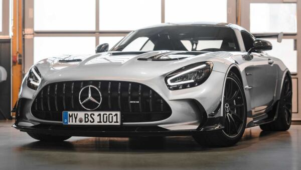 Mercedes-AMG GT Black Series Opus