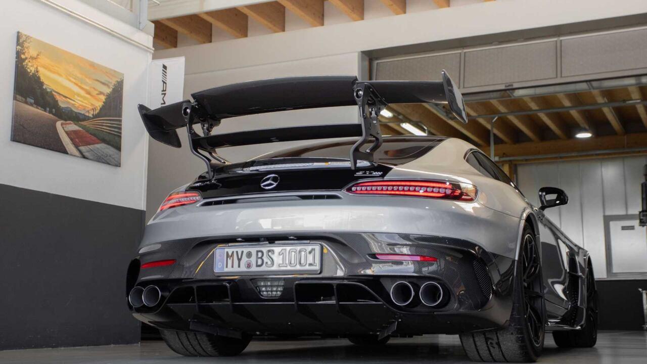 Mercedes-AMG GT Black Series Opus