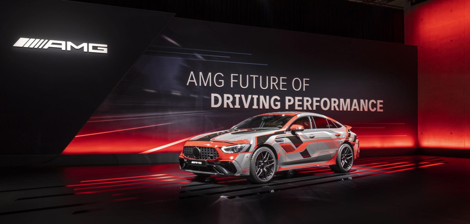 Mercedes-AMG veicolo elettrico ad alte prestazioni