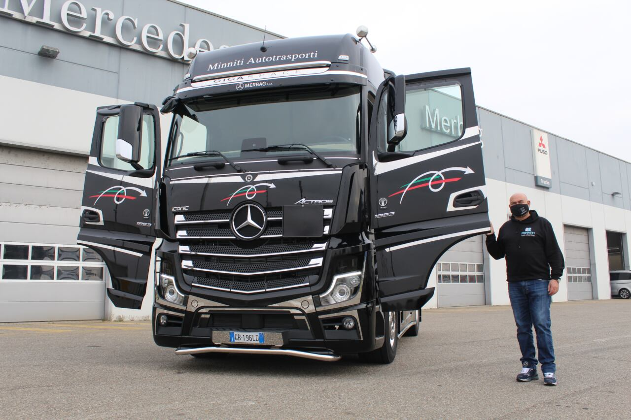 Mercedes Actros Iconic Special Edition Minniti Autotrasporti