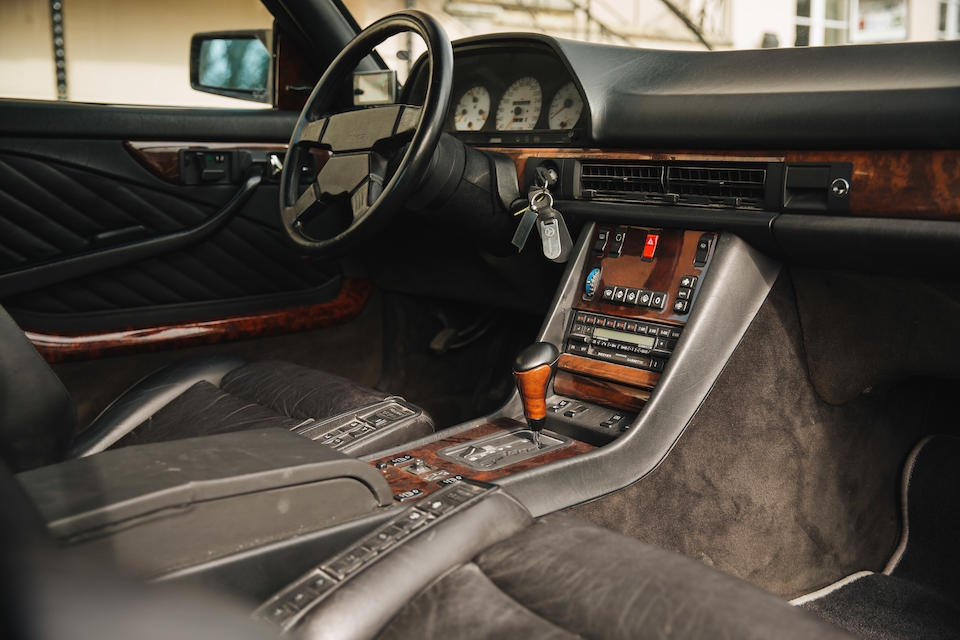 Mercedes-Benz 560 SEC AMG 6.0 Widebody 1989 asta