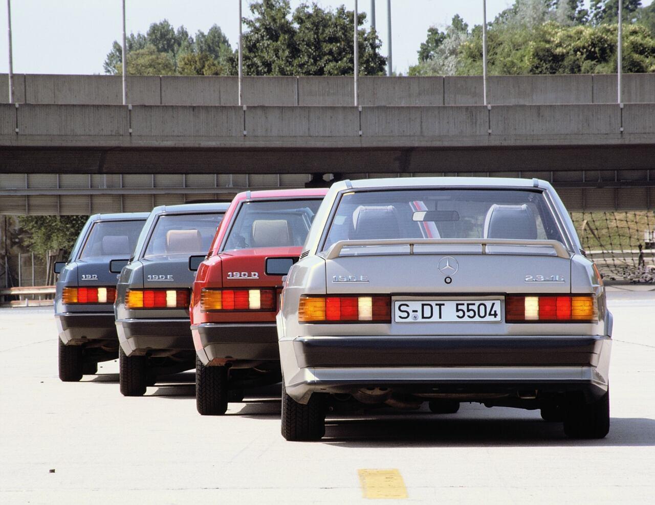 Mercedes Classe C storia