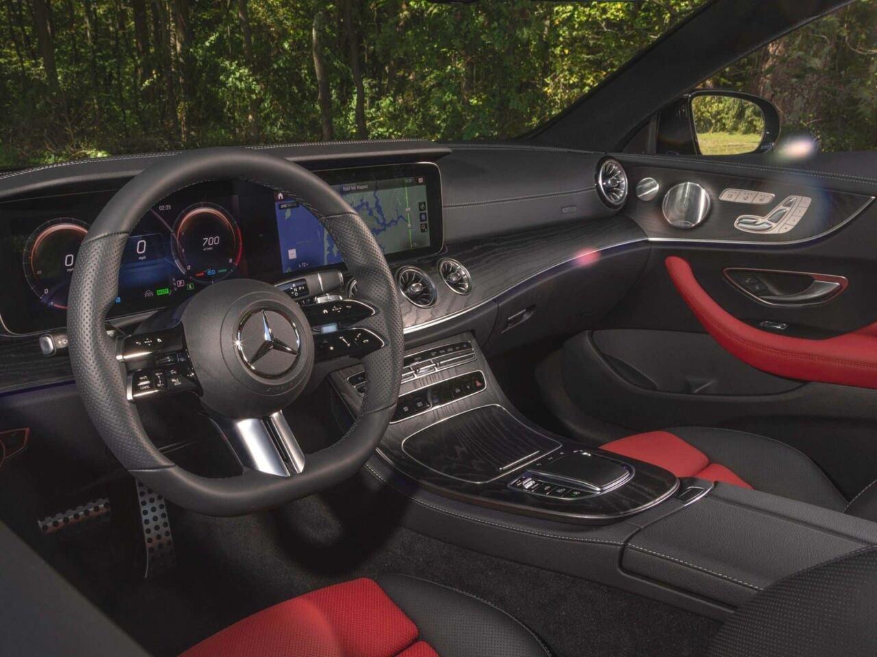 Mercedes E 450 2021 audio