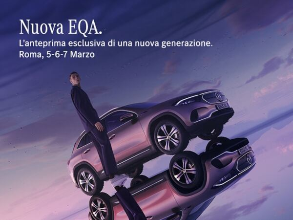 Mercedes EQA presentazione Italia
