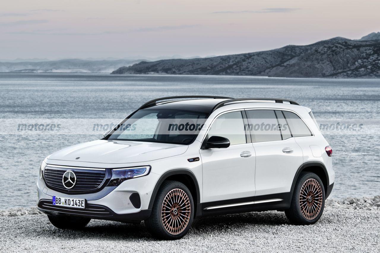 Mercedes EQB render