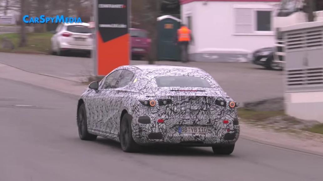 Mercedes EQE ultimo prototipo Germania