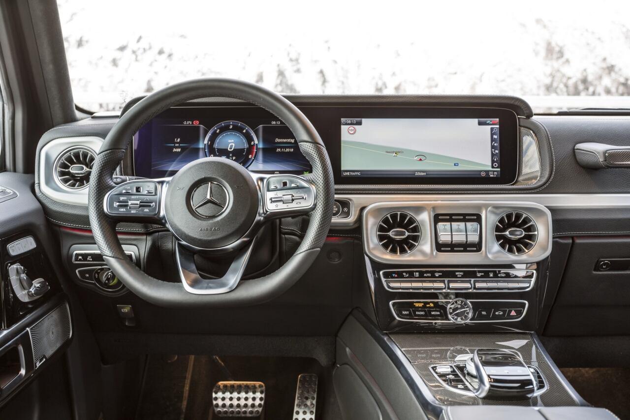 Mercedes G 400 d Australia