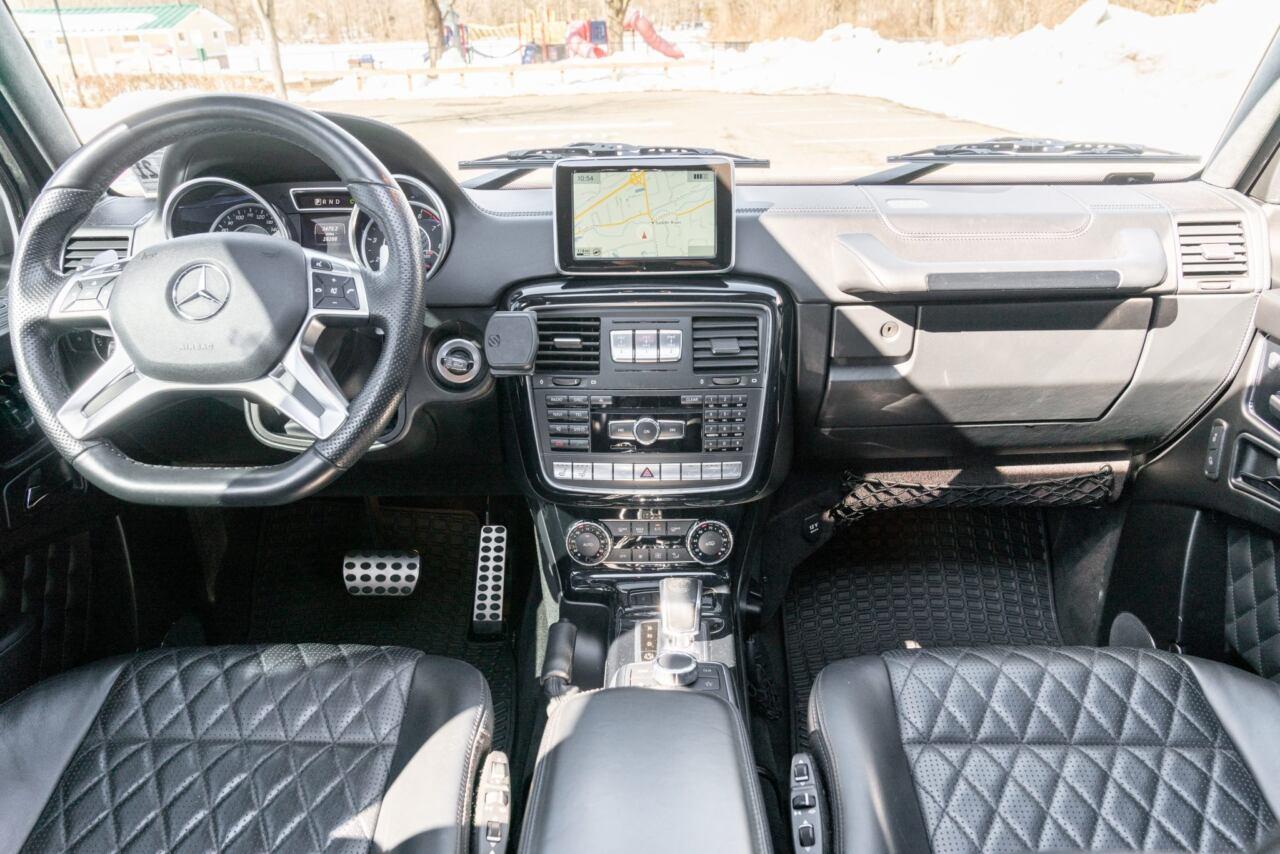 Mercedes G 65 AMG 2016 asta Bring A Trailer