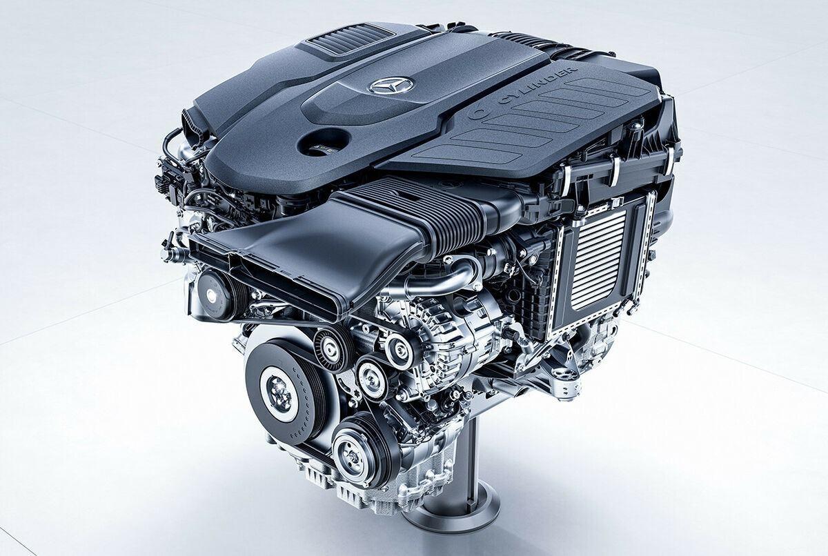 Mercedes M256 motore
