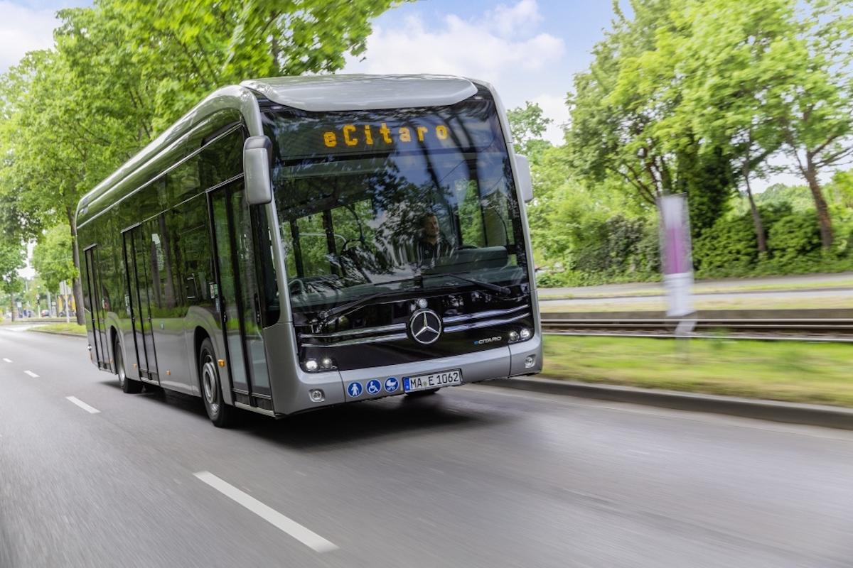 Mercedes eCitaro Métropole Rouen Normandie