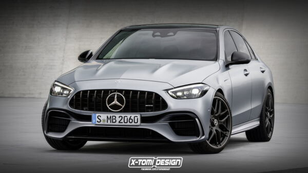 Nuova Mercedes-AMG C 63 X-Tomi Design render