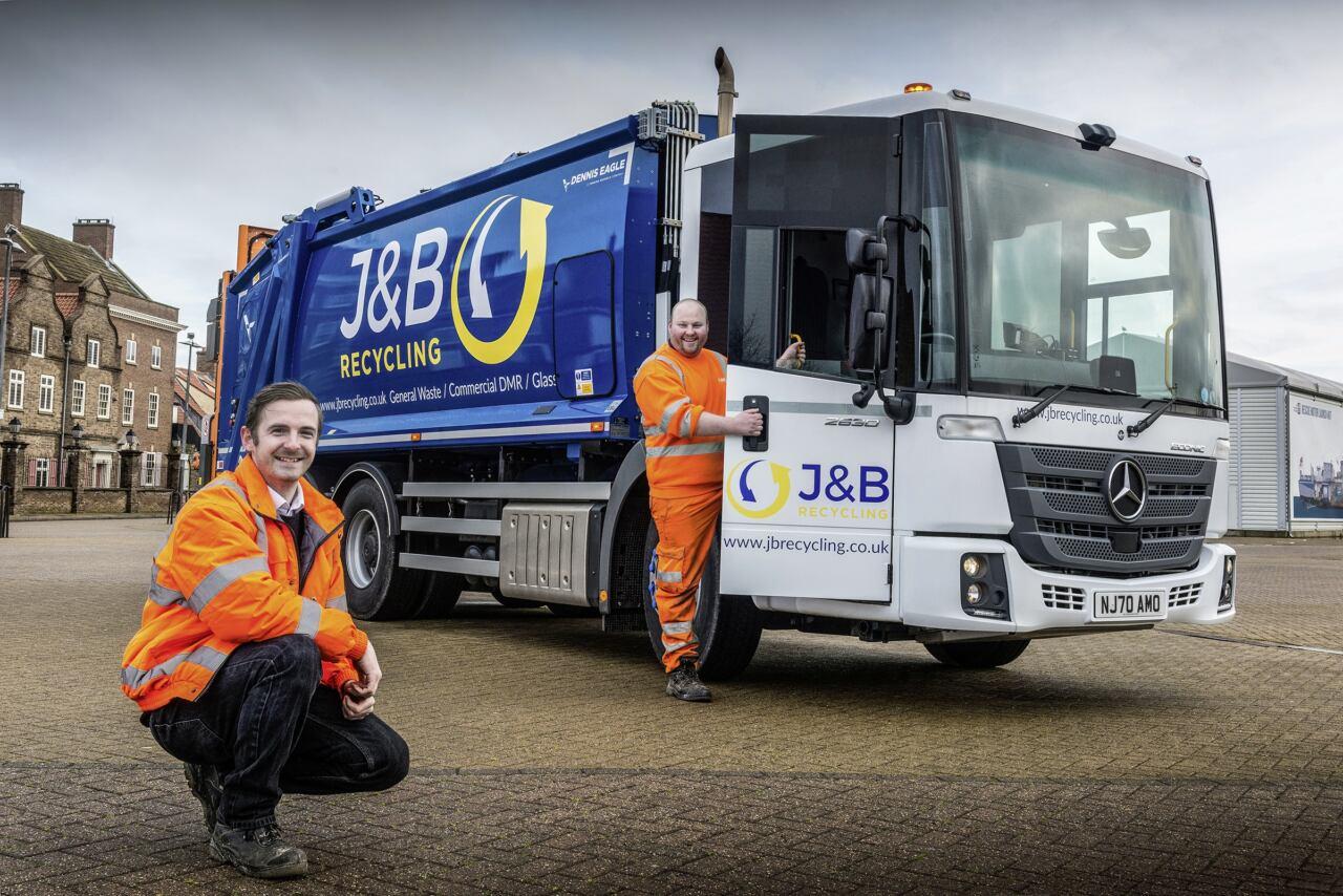 J&B Recycling Mercedes Econic