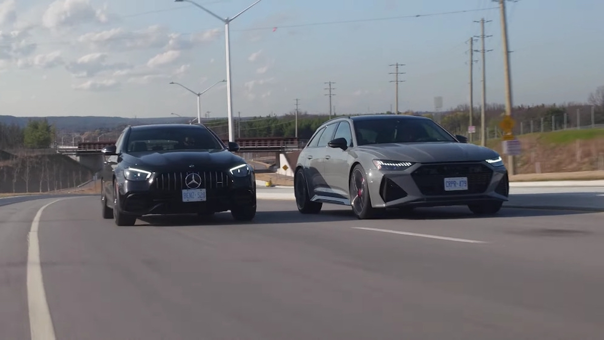 Mercedes-AMG E 63 S Wagon vs Audi RS6 Avant