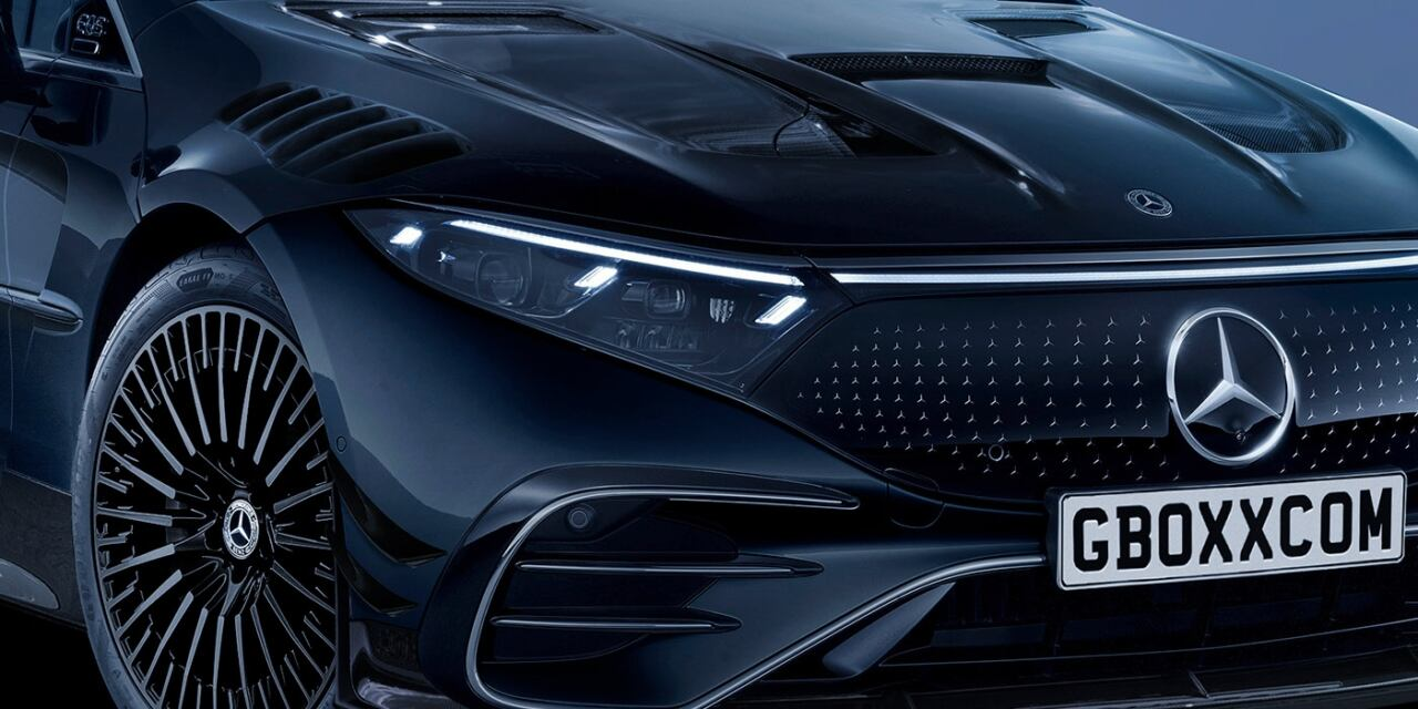 Mercedes-AMG EQS Black Series render