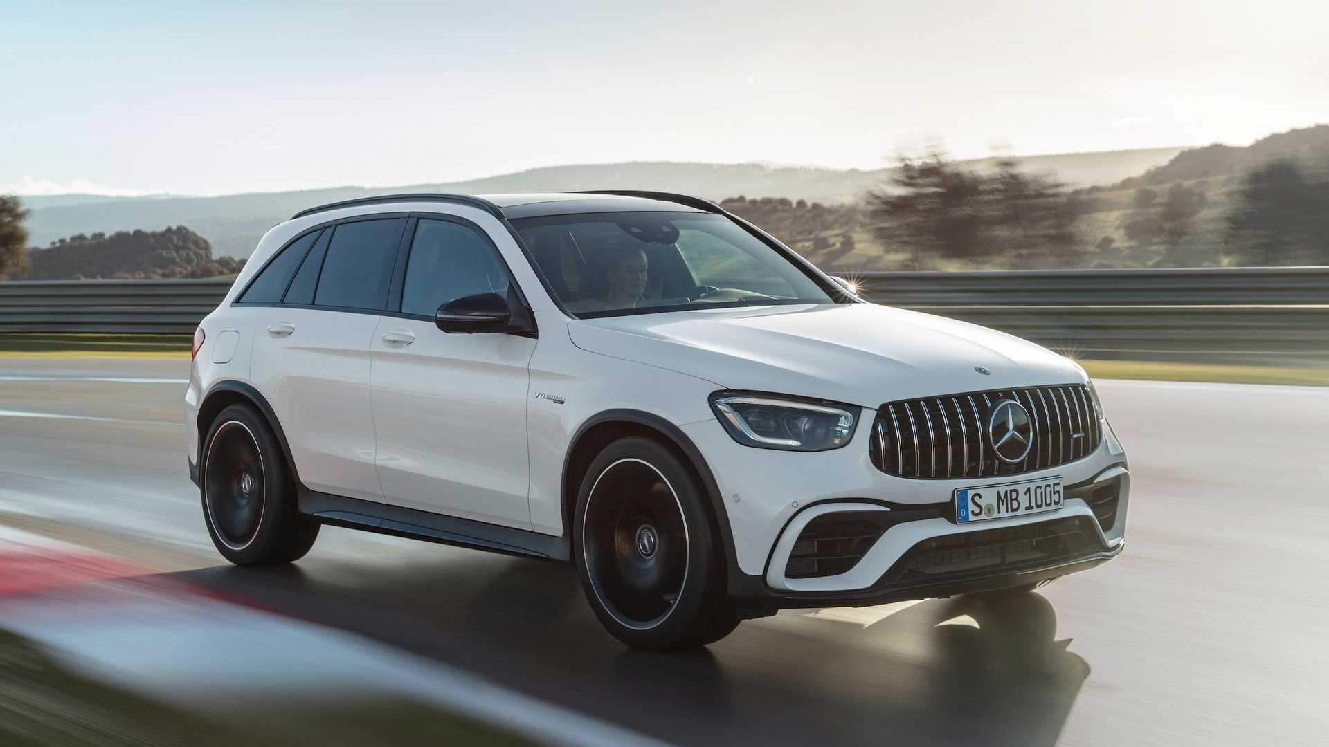 Mercedes-AMG GLC 63 S 2022 Stati Uniti