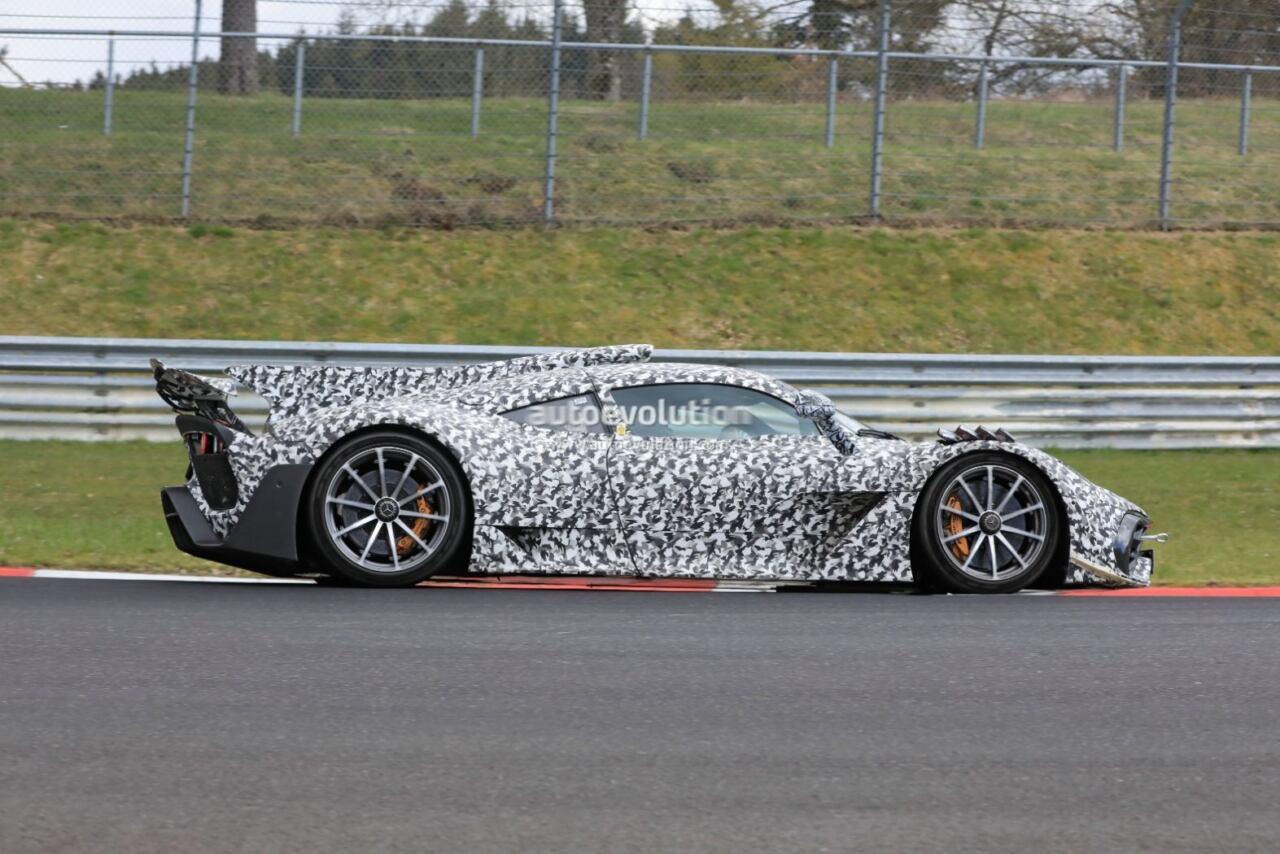 Mercedes-AMG One giro Nurburgring foto spia