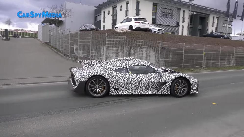 Mercedes-AMG One vari prototipi