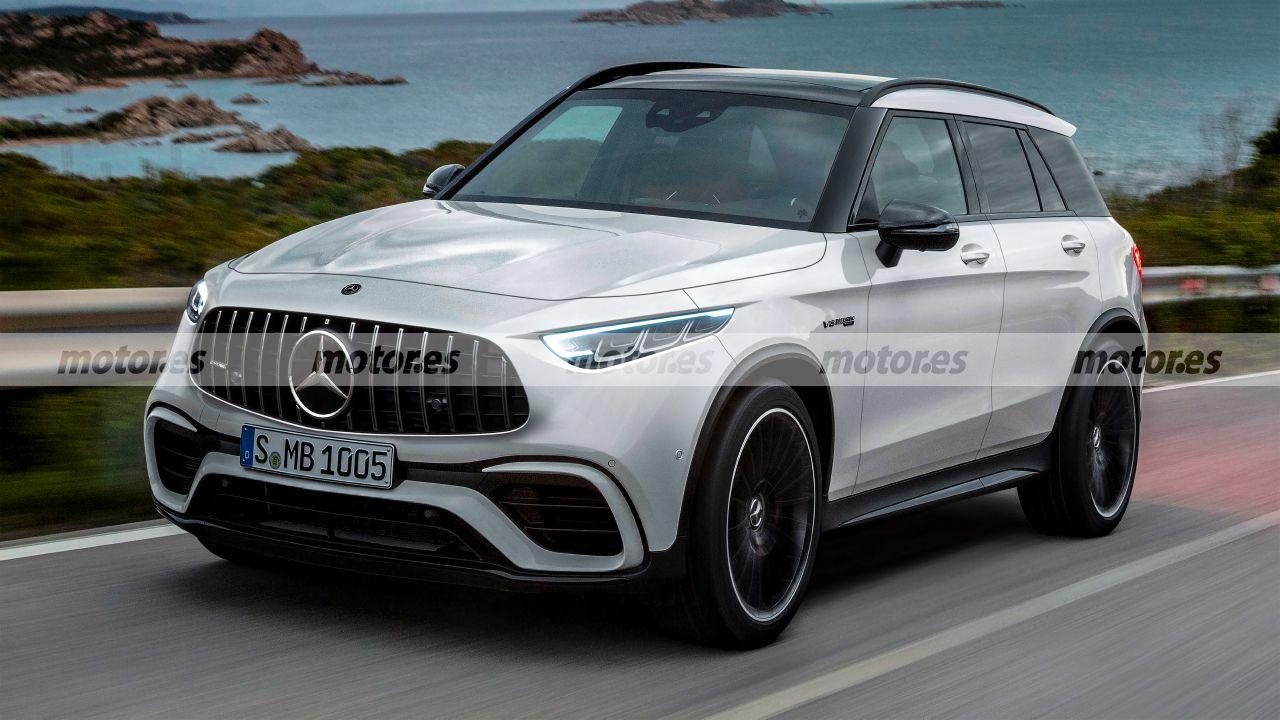 Mercedes-AMG nuovo SUV render