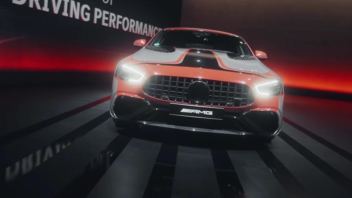 Mercedes-AMG tecnologia ibrida