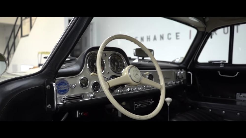 Mercedes-Benz 300 SL Ali di gabbiano Topaz Detailing