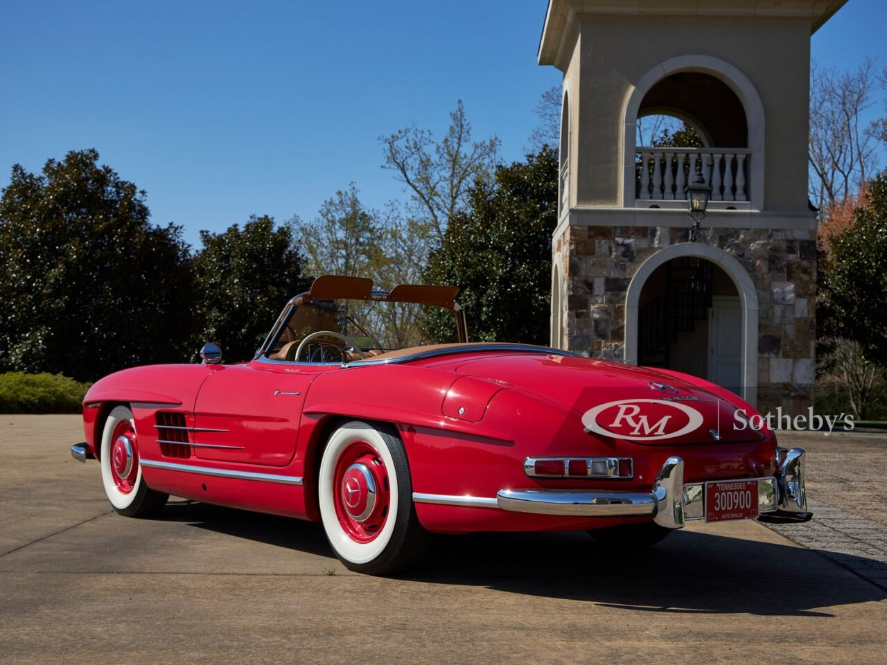 Mercedes-Benz 300 SL Roadster 1958 asta