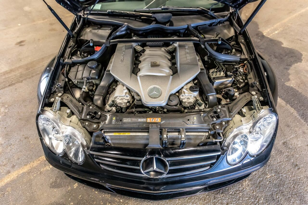 Mercedes-Benz CLK 63 AMG Black Series 2008 asta