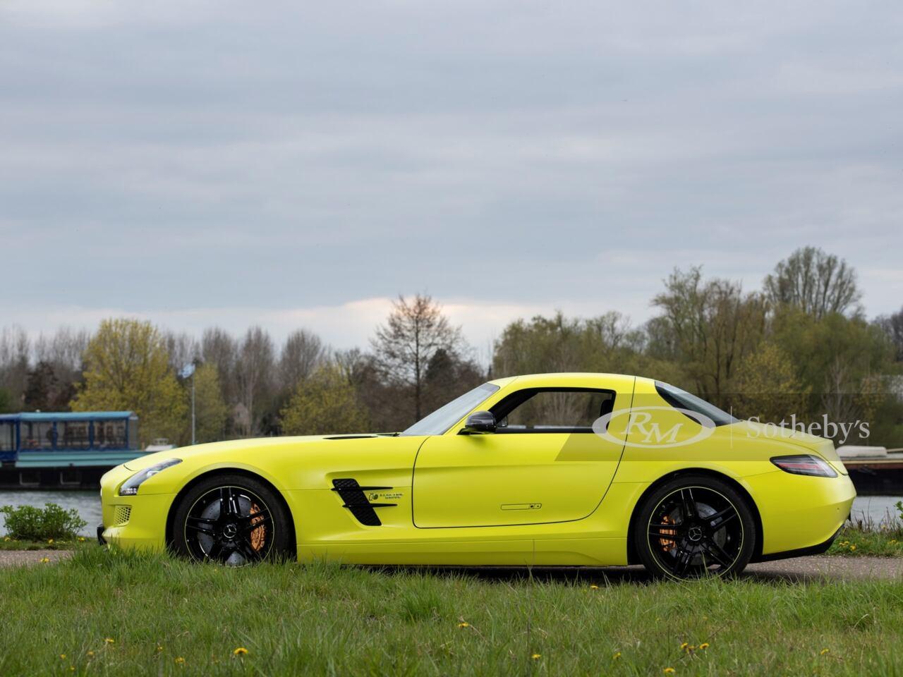 Mercedes-Benz SLS AMG Electric Drive asta