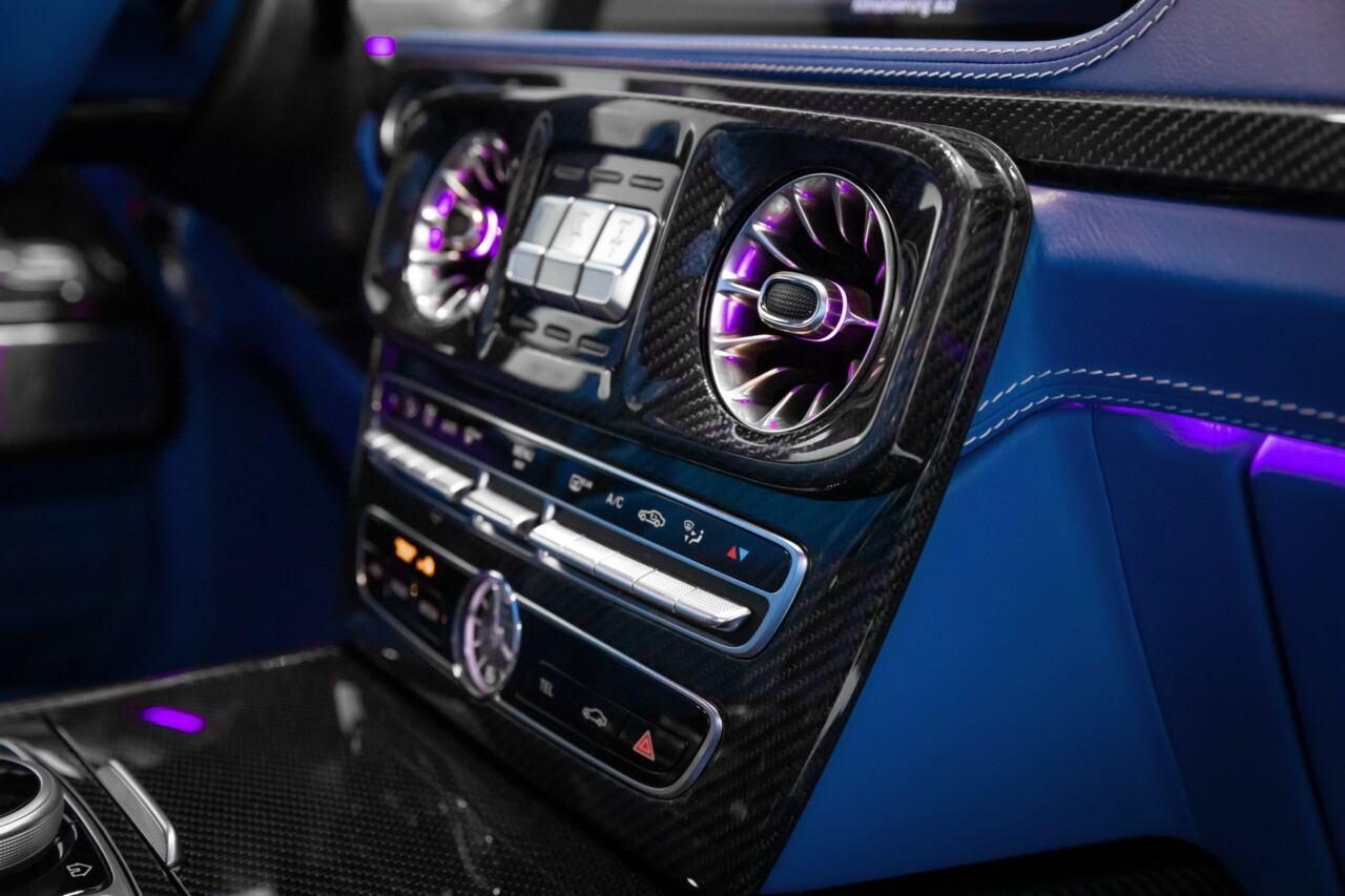 Mercedes Classe G illuminazione aftermarket abitacolo