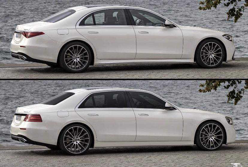 Mercedes Classe S 2021 riprogettata