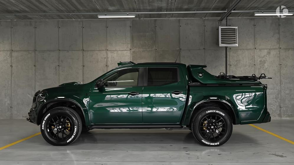 Mercedes Classe X Racing Green Edition