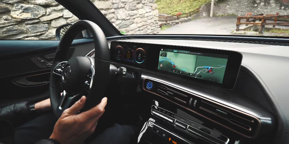 Mercedes EQC 4×4² test foto