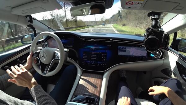 Mercedes EQS interni