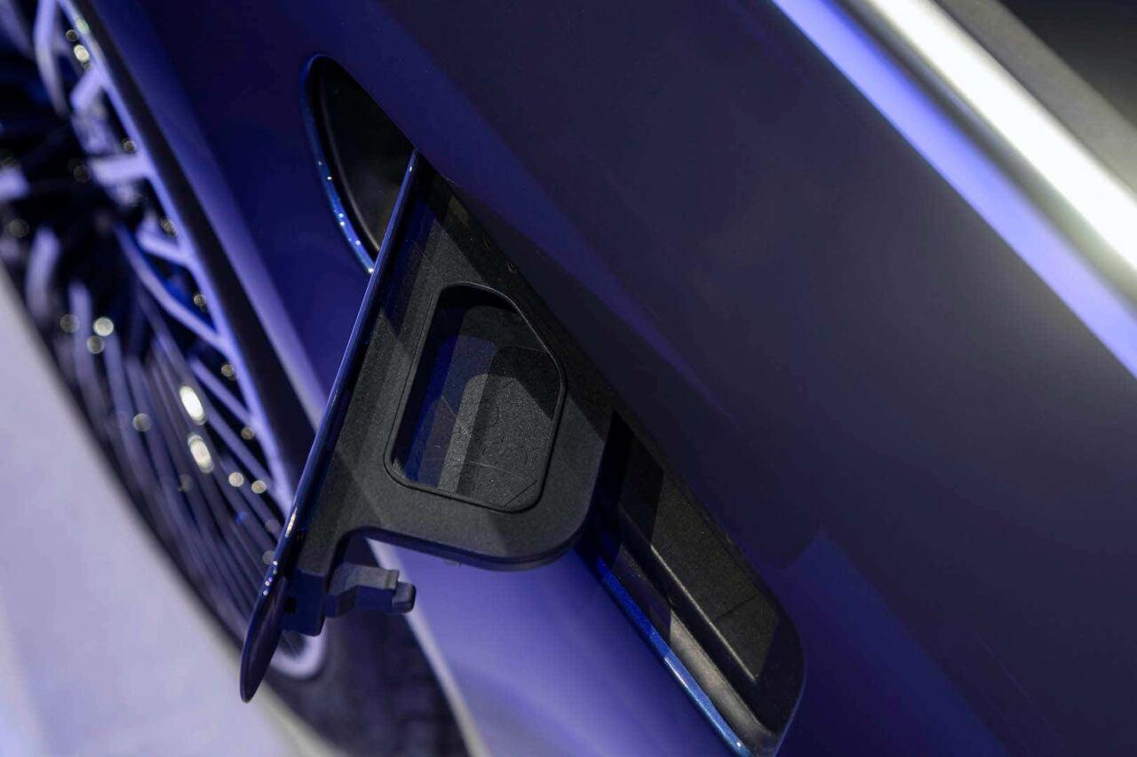 Mercedes EQS porta liquido lavavetri