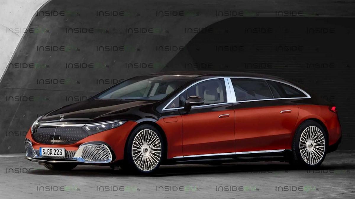 Mercedes-Maybach EQS render