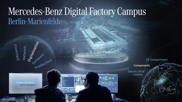 Mercedes Siemens partnership