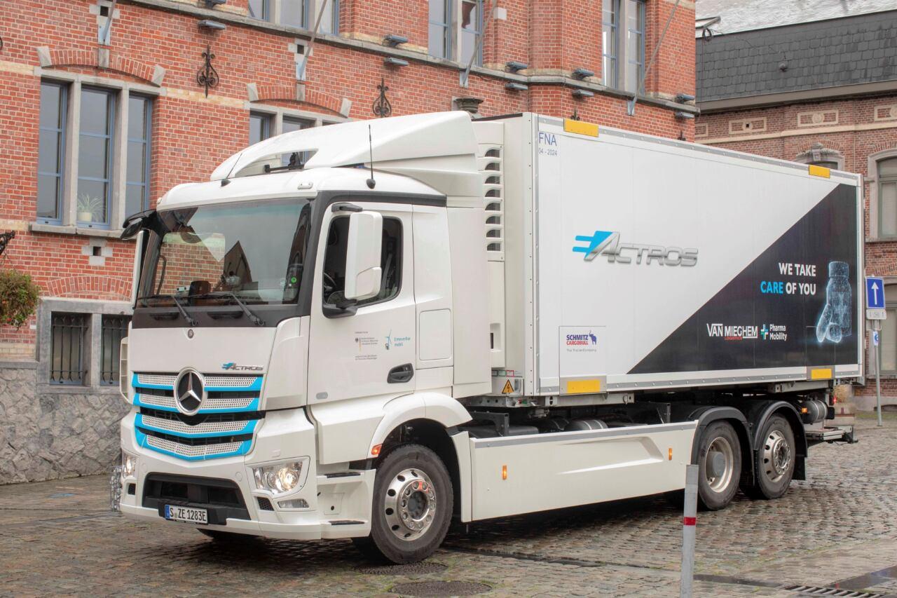 Mercedes eActros Belgio