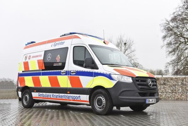Mercedes eSprinter ambulanza elettrica