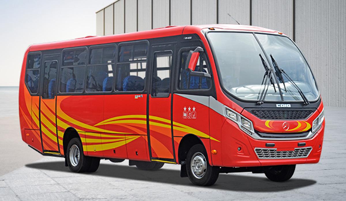 Mercedes minibus Cile