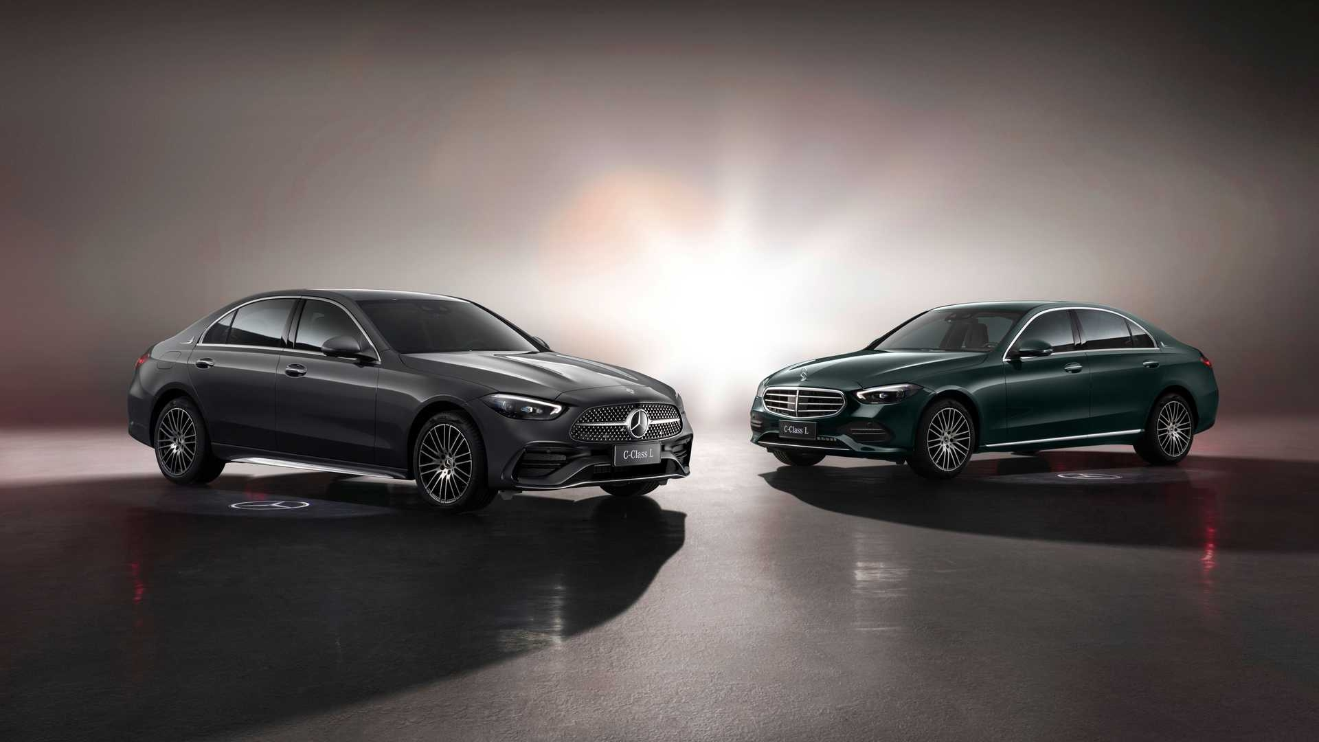 Nuova Mercedes Classe C L Cina